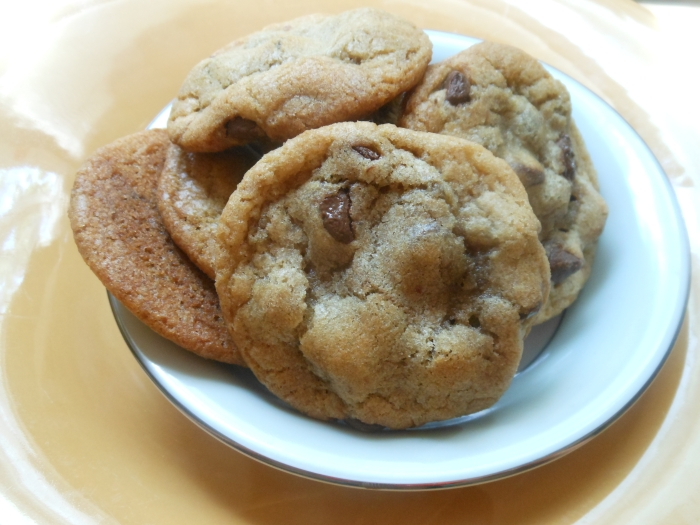 moist, chewy chocolate chip cookies