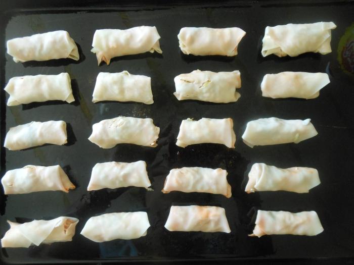 buffalo chicken rolls ready to bake