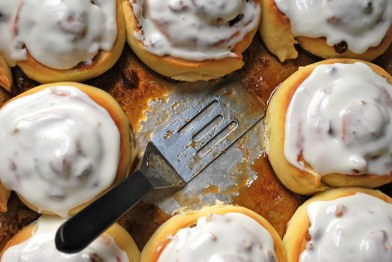 Overnight Cinnamon Rolls from the Joyful Baker