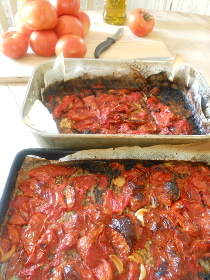 roasted tomatoes!