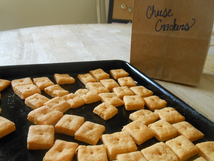 cheese crackers from scratch