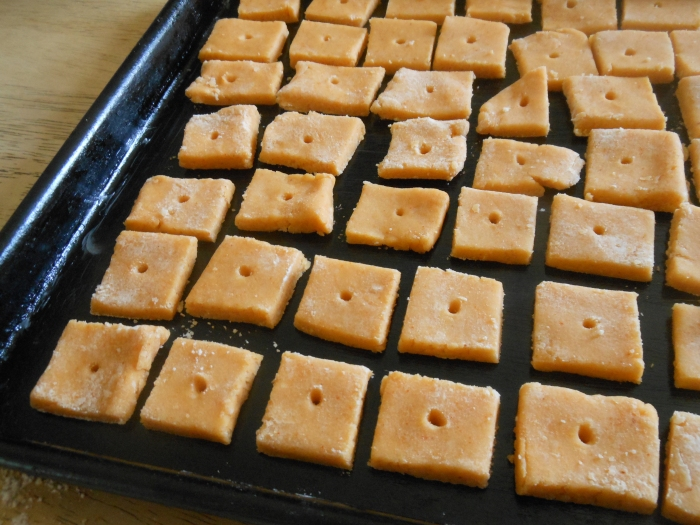 baking cheez-it crackers