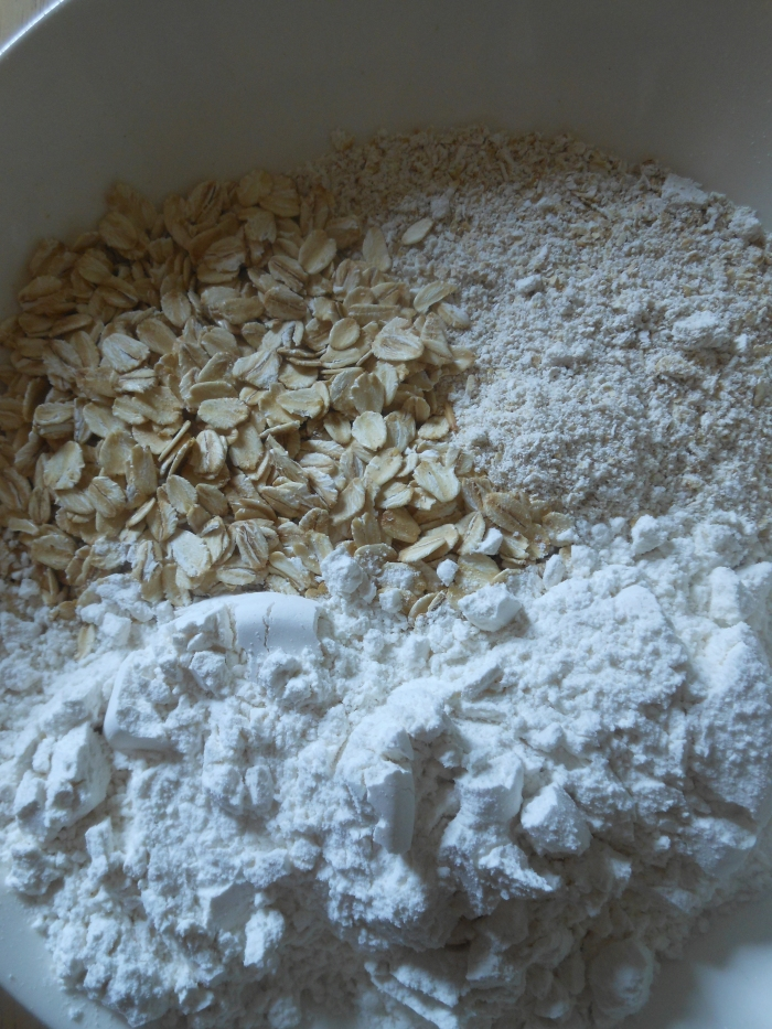 flours and oats