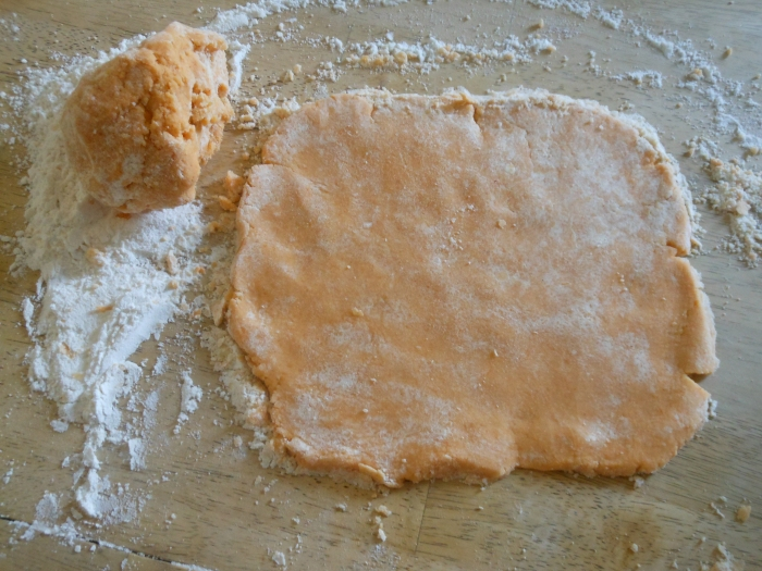 cheez-it dough